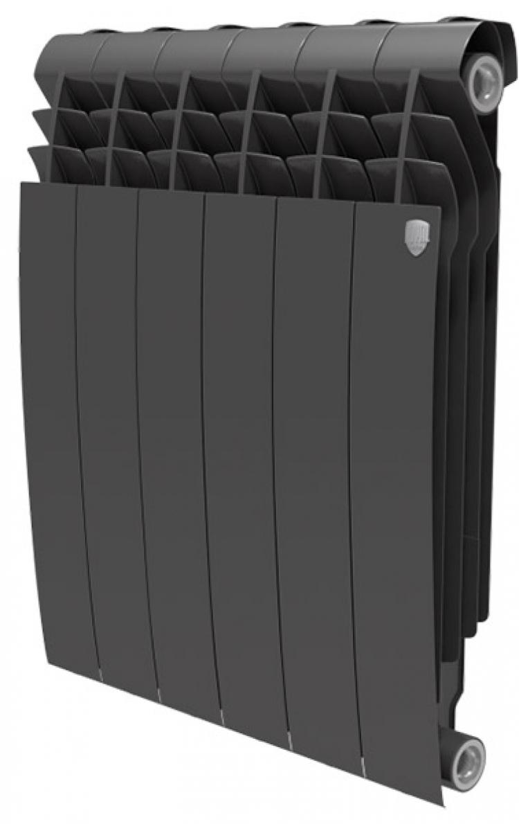 радиатор биметаллический royal thermo biliner 500 noir sable / 10 секций  - Магазин Аква-тор