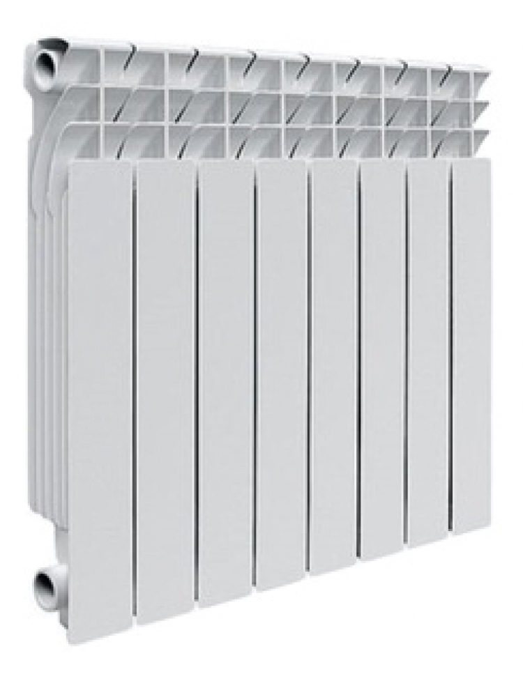 алюминиевый радиатор royal termo revolution 500/10 секций  - Магазин Аква-тор
