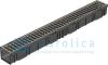 Комплект Gidrolica Light: лоток водоотводный ЛВ -10.11,5.5,5 - пластиковый с решеткой РВ- 10.11.50 пластиковой ячеистой, кл. B125