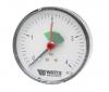 Манометр аксиальный с указателем предела F+R101 (MHA) Корпус d=80 мм Watts