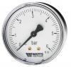 Манометр аксиальный F+R100 (MDA) Корпус d=63 мм Watts