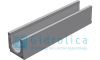 Лоток водоотводный бетонный коробчатый (СО-150мм), с уклоном 0,5%  КUу 100.24,8 (15).25(18,5)-BGU, № 2, Gidrolica