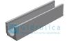 Лоток водоотводный бетонный коробчатый (СО-150мм), с водосливом КUв 100.24,8 (15).26,5(20)-BGU, № 5-0, Gidrolica