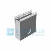Пескоулавливающий колодец бетонный  (СО-150мм), односекционный с оцинкованной насадкой ПКП 50.24,7(15).69(65)-BGU-Z, Gidrolica