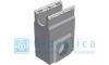 Пескоулавливающий колодец бетонный  (СО-100мм), односекционный,  с оцинкованной насадкой ПКП 50.16,3 (10).51(47) - BGU-Z, Gidrolica