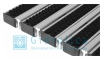 Придверная решетка Gidrolica Step - щетка+скребок 390х590мм