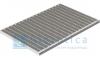 Решетка Gidrolica Step Pro 390х590 мм - стальная ячеистая оцинкованная, к поддону АРТ 315