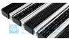 Придверная решетка Gidrolica Step - резина+текстиль+скребок 390х590мм