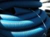 Труба защитная двустенная NПНД/ПВД 200мм синяя (40 Nashorn