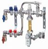 Сборный узел FAR с высокотемпературным контуром для системы напольного отопления с 2 отводами (ТР)
