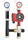 Группа быстрого монтажа Warme MASKE 40.3 (без насоса, с термостатическим клапаном t 20-43)