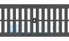 Решетка водоприемная Gidrolica Standart РВ -20.24.50 - щелевая чугунная ВЧ, кл. С250