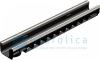 Лоток водоотводный Gidrolica Standart Plus ЛВ-10.14,5.10 - пластиковый (усиленный)
