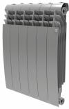 Радиатор биметаллический Royal Thermo BiLiner 500 Silver Satin / 8 секций