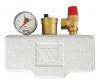 Группа безопасности котла KSG 30/20M-ISO (до 100 кВт) (в теплоизоляции) Watts
