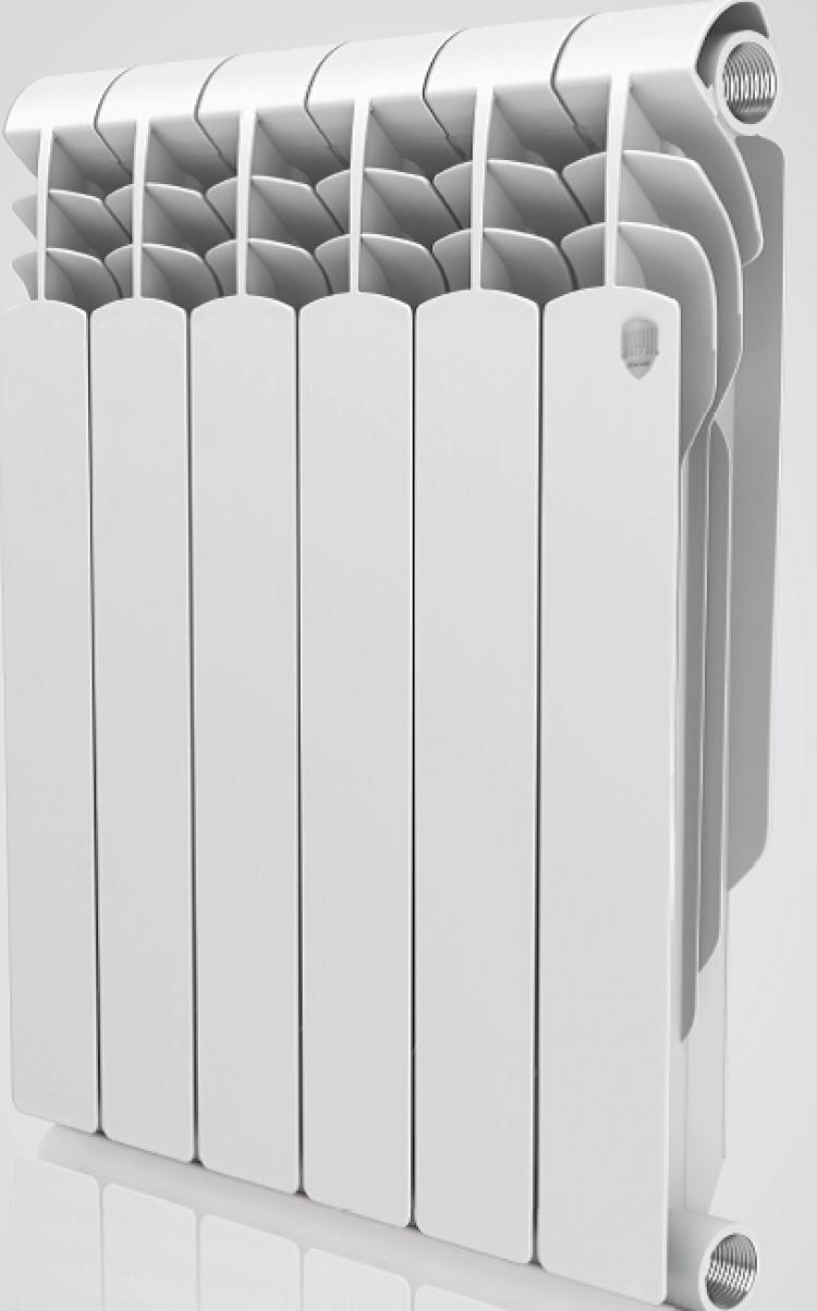 радиатор биметаллический royal thermo vittoria 500 / 10 секций  - Магазин Аква-тор
